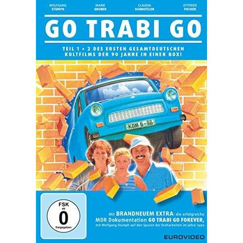 Peter Timm - Go Trabi Go 1 + 2 [2 DVDs] - Preis vom 08.04.2021 04:50:19 h