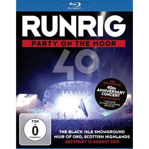 Runrig - Party On The Moor (The 40th Anniversary Concert) [Blu-ray] - Preis vom 26.03.2020 05:53:05 h