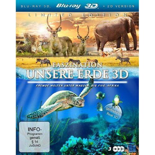 - Faszination Unsere Erde 3D (Faszination Afrika / Faszination Korallenriff / Südafrika) (3 Blu-rays) [3D Blu-ray] - Preis vom 16.01.2021 06:04:45 h