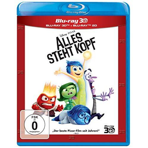 Peter Docter - Alles steht Kopf  (+ Blu-ray) - Preis vom 10.09.2020 04:46:56 h