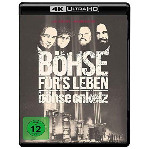Böhse Onkelz - Böhse für's Leben  (4K Ultra HD) [Blu-ray] - Preis vom 18.10.2020 04:52:00 h