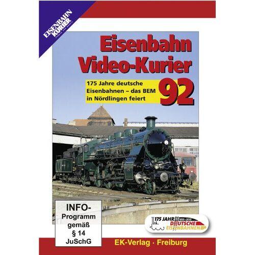 - Eisenbahn Video-Kurier 92 - 175 Jahre deutsche Eisenbahnen - das BEM in Nördlingen feiert - Preis vom 26.02.2021 06:01:53 h