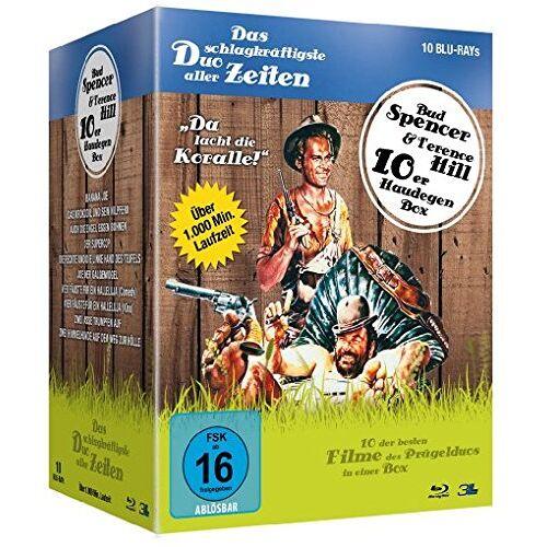 Terence Hill - Bud Spencer & Terence Hill - Haudegen-Box [Blu-ray] - Preis vom 11.04.2021 04:47:53 h