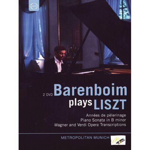 Daniel Barenboim - Barenboim plays Liszt [2 DVDs] - Preis vom 01.06.2020 05:03:22 h