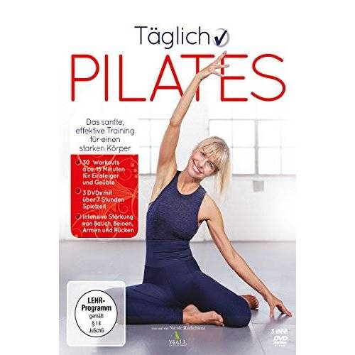 Mario Spiegel - Täglich Pilates [3 DVDs] - Preis vom 05.07.2019 04:44:02 h