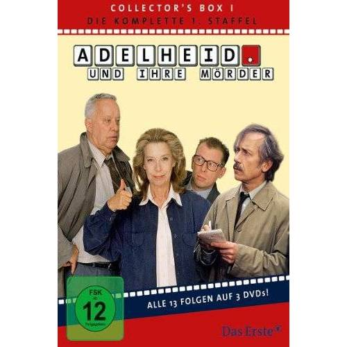 Evelyn Hamann - Adelheid und ihre Mörder - Adelheid Box 1: Die komplette 1.Staffel (Folge 01-13) [3 DVDs] - Preis vom 16.01.2021 06:04:45 h