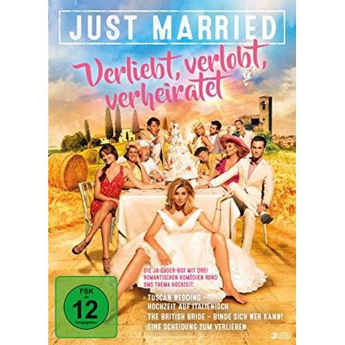 S.V. Krishna Reddy - Just Married - Verliebt, verlobt, verheiratet (3 DVDs im Sammelschuber) Hochzeitsfilme - Preis vom 12.08.2019 05:56:53 h