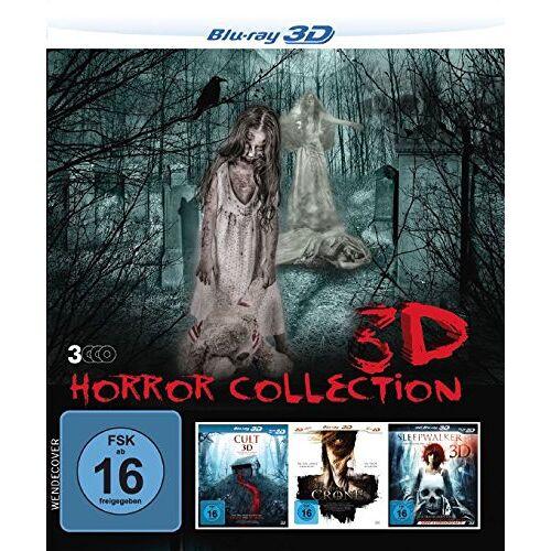 Various - 3D Horror Collection (3 Horrorfilme in einer Box) [Blu-ray] - Preis vom 16.04.2021 04:54:32 h