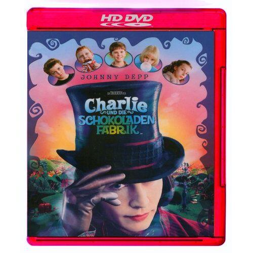 Tim Burton - Charlie und die Schokoladenfabrik [HD DVD] - Preis vom 06.09.2020 04:54:28 h