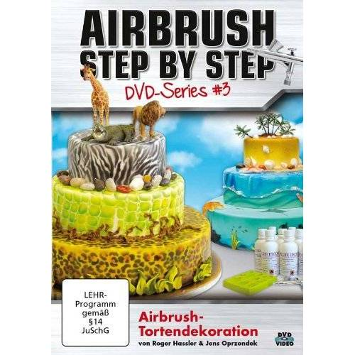 - Airbrush Step by Step DVD-Series #3: Airbrush-Tortendekoration - Preis vom 15.05.2021 04:43:31 h