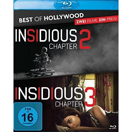 - Insidious: Chapter 2 / Insidious: Chapter 3 - Best of Hollywood/2 Movie Collector's Pack [Blu-ray] - Preis vom 21.04.2021 04:48:01 h