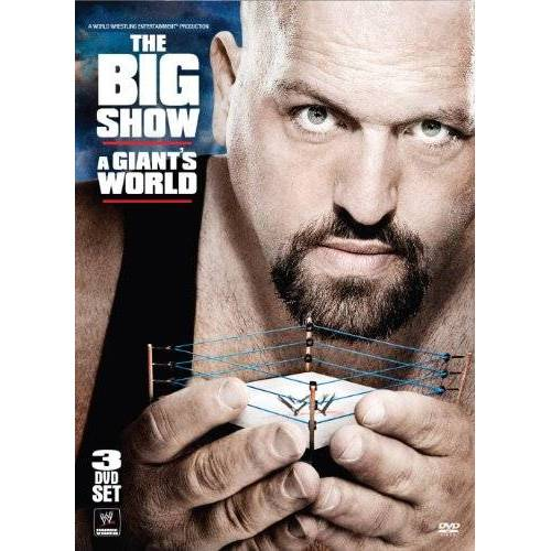 The Giant - WWE - The Big Show: A Giant's World [3 DVDs] - Preis vom 15.01.2021 06:07:28 h