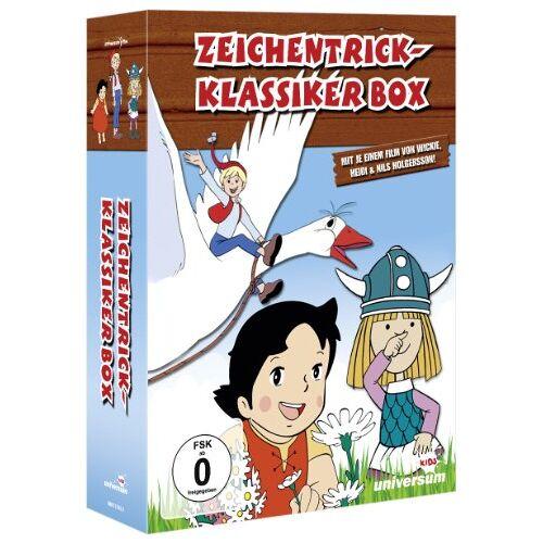 - Zeichentrick-Klassiker Box [3 DVDs] - Preis vom 03.05.2021 04:57:00 h
