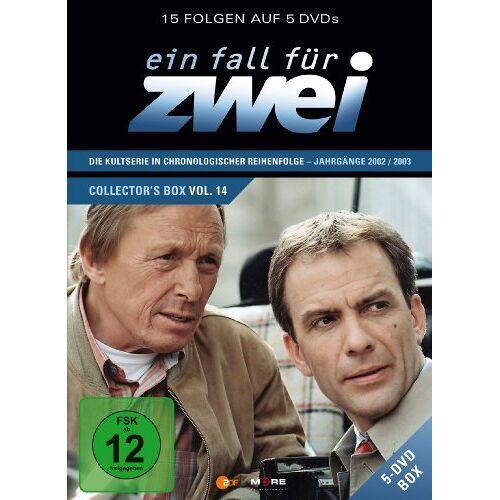 Rainer Hunold - Ein Fall für Zwei - Collector's Box Vol. 14 [5 DVDs] - Preis vom 20.10.2020 04:55:35 h