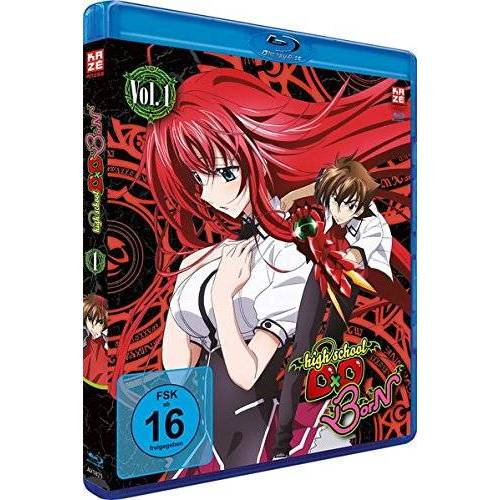 - Highschool DxD Born Vol.1/Ep.1-3 [Blu-ray] - Preis vom 25.01.2021 05:57:21 h
