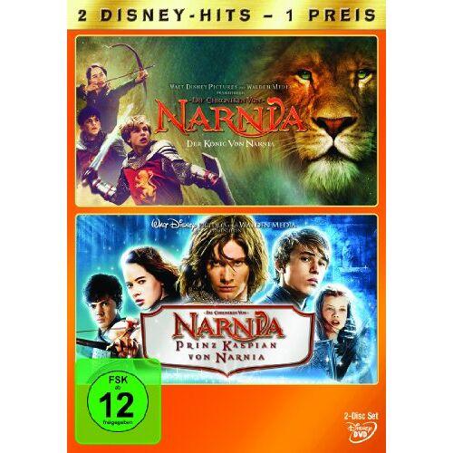 Andrew Adamson - Die Chroniken von Narnia - Der König von Narnia / Prinz Kaspian von Narnia [2 DVDs] - Preis vom 20.10.2020 04:55:35 h