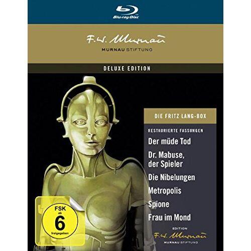 Fritz Lang - Die Fritz Lang Box [Blu-ray] - Preis vom 09.05.2021 04:52:39 h