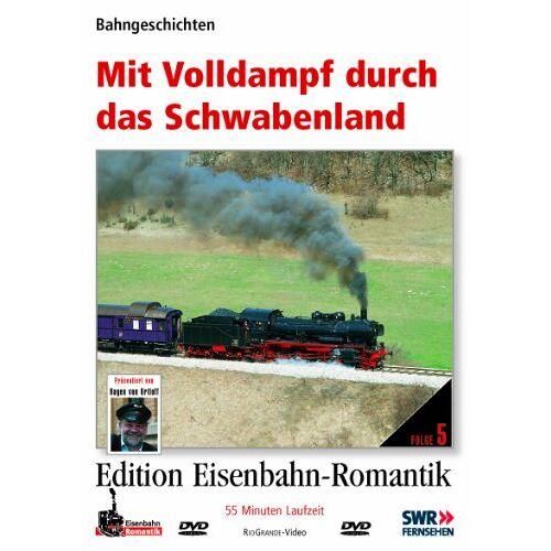 - Mit Volldampf durch das Schwabenland - Bahngeschichten - Edition Eisenbahn-Romantik - Preis vom 12.05.2021 04:50:50 h