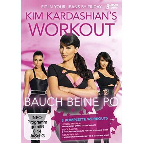 Kim Kardashian - Kim Kardashian's Workout - Bauch, Beine, Po [3 DVDs] - Preis vom 06.09.2020 04:54:28 h