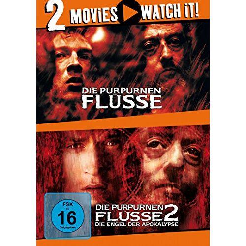 Olivier Dahan - Die purpurnen Flüsse / Die purpurnen Flüsse 2 [2 DVDs] - Preis vom 06.09.2020 04:54:28 h