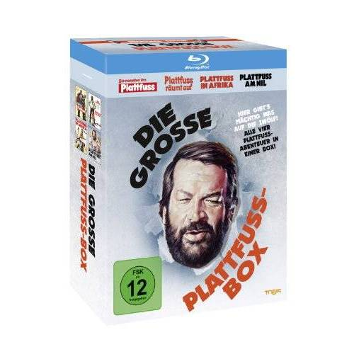 Bud Spencer - Die grosse Plattfuss-Box [Blu-ray] - Preis vom 13.05.2021 04:51:36 h