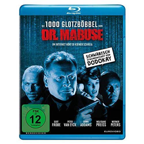 Fritz Lang - Die 1000 Glotzböbbel vom Dr. Mabuse [Blu-ray] - Preis vom 27.02.2021 06:04:24 h