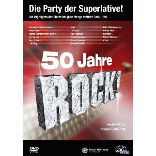 Thomas Gottschalk - 50 Jahre Rock (2 DVDs) - Preis vom 20.10.2020 04:55:35 h