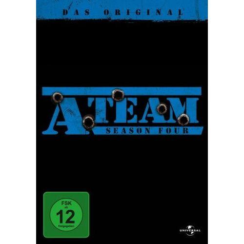 David Hemmings - A-Team - Season Four [6 DVDs] - Preis vom 15.04.2021 04:51:42 h