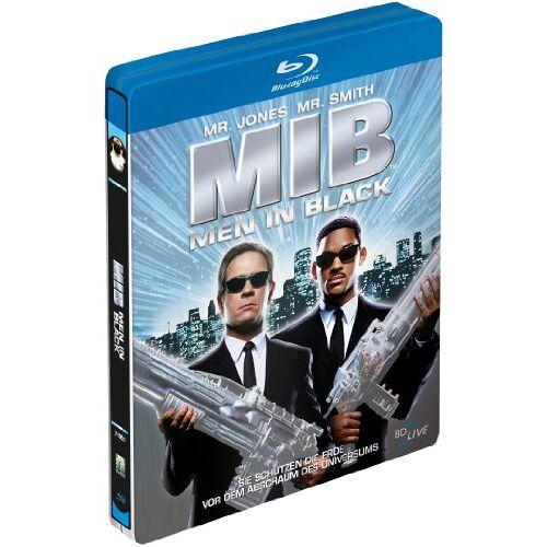 Will Smith - MIB - Men in Black (Steelbook) [Blu-ray] - Preis vom 29.09.2020 04:52:24 h