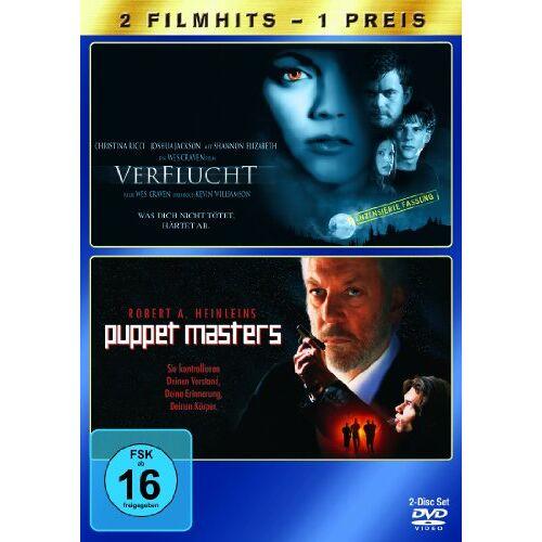 Wes Craven - Verflucht / Puppet Masters [2 DVDs] - Preis vom 06.03.2021 05:55:44 h