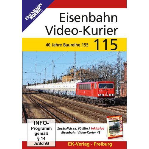 - Eisenbahn Video-Kurier 115 - 40 Jahre Baureihe 155 - Preis vom 19.01.2021 06:03:31 h