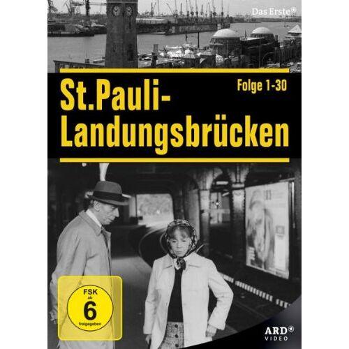 Dr. Dieter Wedel - St. Pauli Landungsbrücken - Staffel 1&2, Folge 01-30 (4 DVDs) - Preis vom 06.09.2020 04:54:28 h