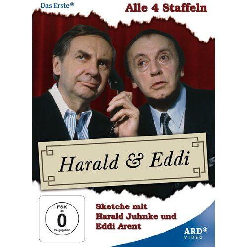 Harald Juhnke - Harald & Eddi - Alle 4 Staffeln (4 DVDs) - Preis vom 20.10.2020 04:55:35 h