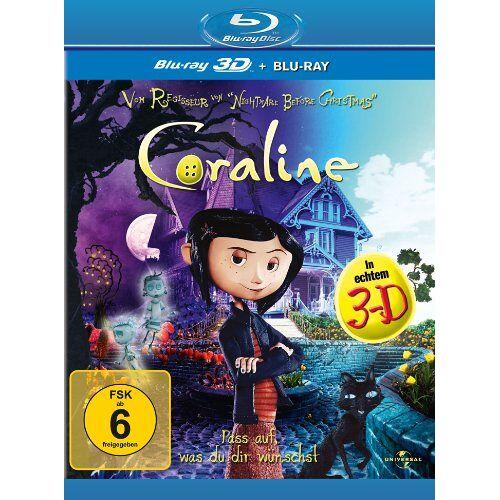 Henry Selick - Coraline (+ Blu-ray) [Blu-ray 3D] - Preis vom 13.05.2021 04:51:36 h