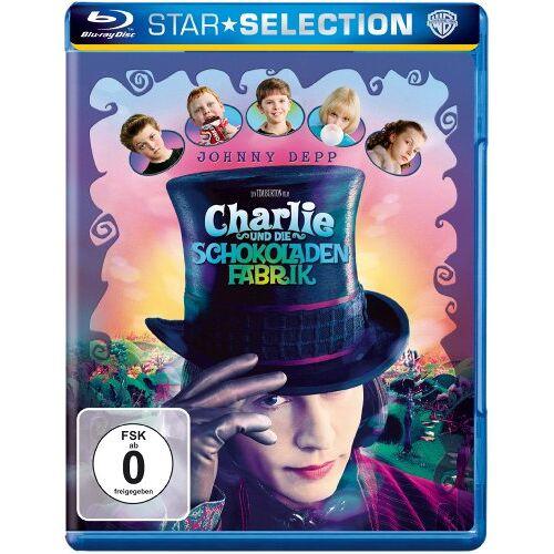 Tim Burton - Charlie und die Schokoladenfabrik [Blu-ray] - Preis vom 06.09.2020 04:54:28 h