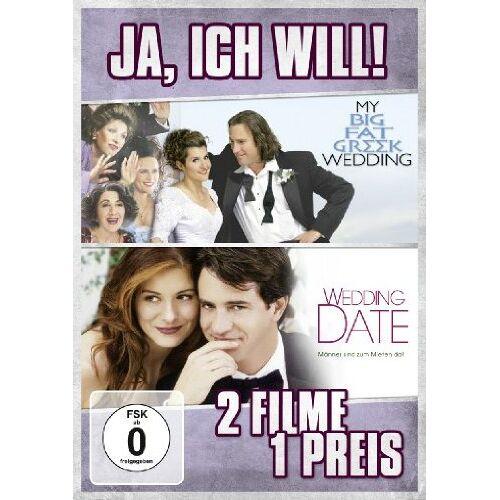 Joel Zwick - Ja, ich will! (My Big Fat Greek Wedding / Wedding Date) (2 Discs) - Preis vom 23.02.2021 06:05:19 h