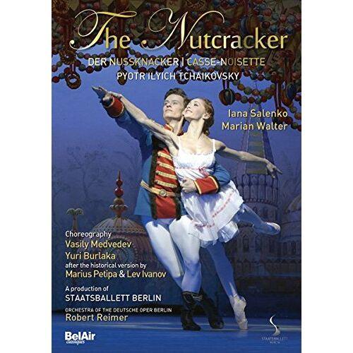 Andy Sommer - Der Nussknacker - Tschaikowsky [DVD] - Preis vom 28.02.2021 06:03:40 h