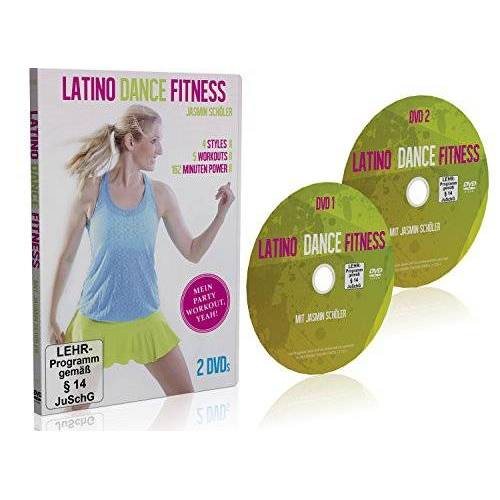 Easy Workouts - Latino Dance Fitness - Mein Party Workout - 2 DVD (Latin Workout) - Preis vom 16.01.2021 06:04:45 h