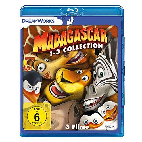 - Madagascar 1-3 [Blu-ray] - Preis vom 03.08.2020 04:53:25 h