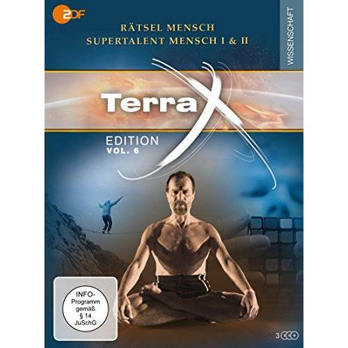 Luise Wagner - Terra X - Edition Vol. 6 Rätsel Mensch - Supertalent Mensch I & II [3 DVDs] - Preis vom 11.04.2021 04:47:53 h
