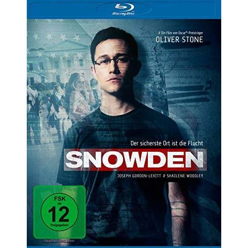 Oliver Stone - Snowden [Blu-ray] - Preis vom 21.04.2021 04:48:01 h