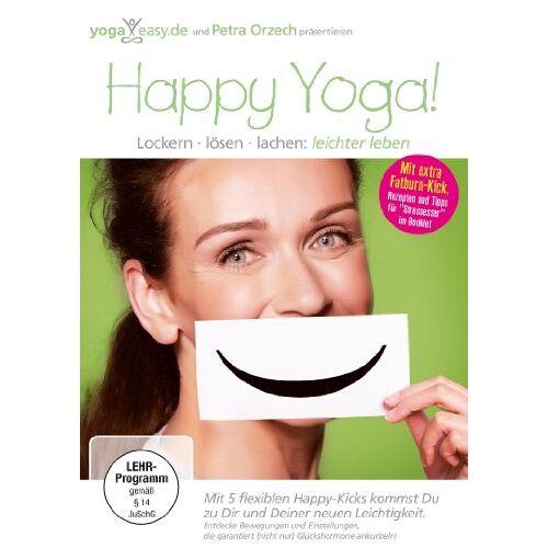 Petra Orzech - YogaEasy.de - Happy Yoga! Lockern, lösen, lachen: leichter leben - Preis vom 15.04.2021 04:51:42 h