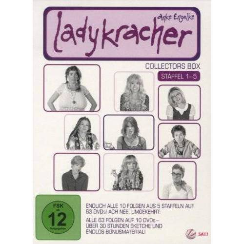 Jan Markus Linhof - Ladykracher - Box Staffel 1 - 5 (10 Discs) - Preis vom 06.09.2020 04:54:28 h