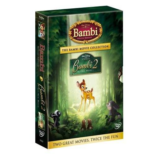 David D. Hand - Bambi Doppelpack (Bambi SE & Bambi 2) [Collector's Edition] [3 DVDs] - Preis vom 13.04.2021 04:49:48 h