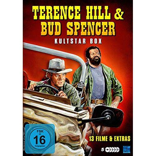 Terence Hill - Terence Hill & Bud Spencer - Kultstar Box [5 DVDs] - Preis vom 16.04.2021 04:54:32 h