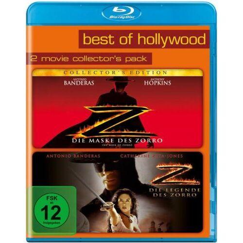 Antonio Banderas - Best of Hollywood - 2 Movie Collector's Pack 46 (Die Maske des Zorro / Die Legende des Zorro) [Blu-ray] - Preis vom 20.10.2020 04:55:35 h