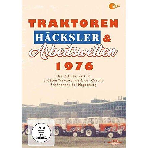 Dirk Sager - Traktoren, Häcksler &  Arbeitswelten 1976 - Das ZDF zu Gast im Traktorenwerk Schönebeck - Preis vom 05.09.2020 04:49:05 h