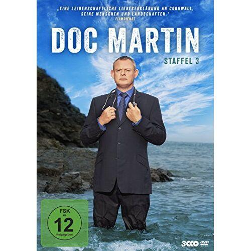 Martin Clunes - Doc Martin - Staffel 3 [3 DVDs] - Preis vom 28.02.2021 06:03:40 h