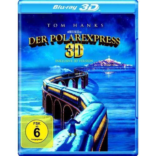 Robert Zemeckis - Der Polarexpress (inkl. 2D-Version) [3D Blu-ray] - Preis vom 07.05.2021 04:52:30 h