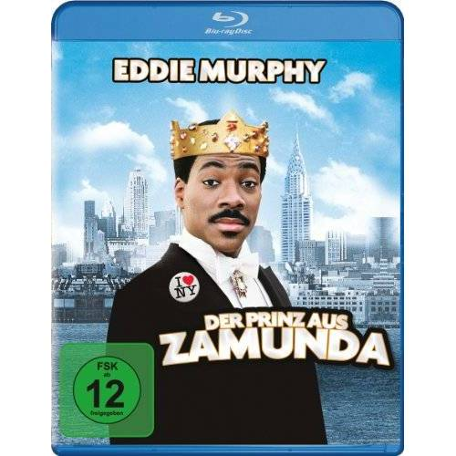 John Landis - Der Prinz aus Zamunda [Blu-ray] - Preis vom 25.02.2021 06:08:03 h